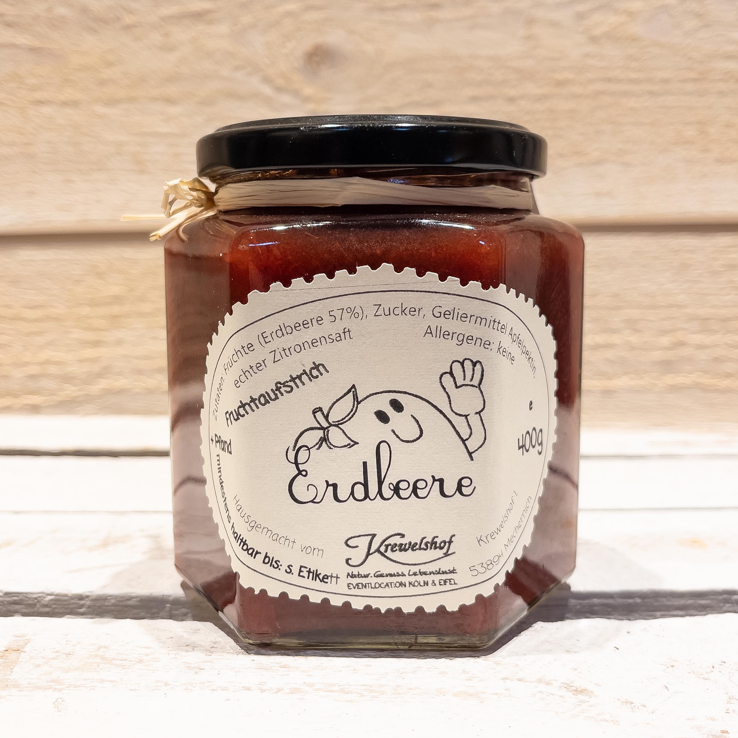 Erdbeer-Marmelade (400g)