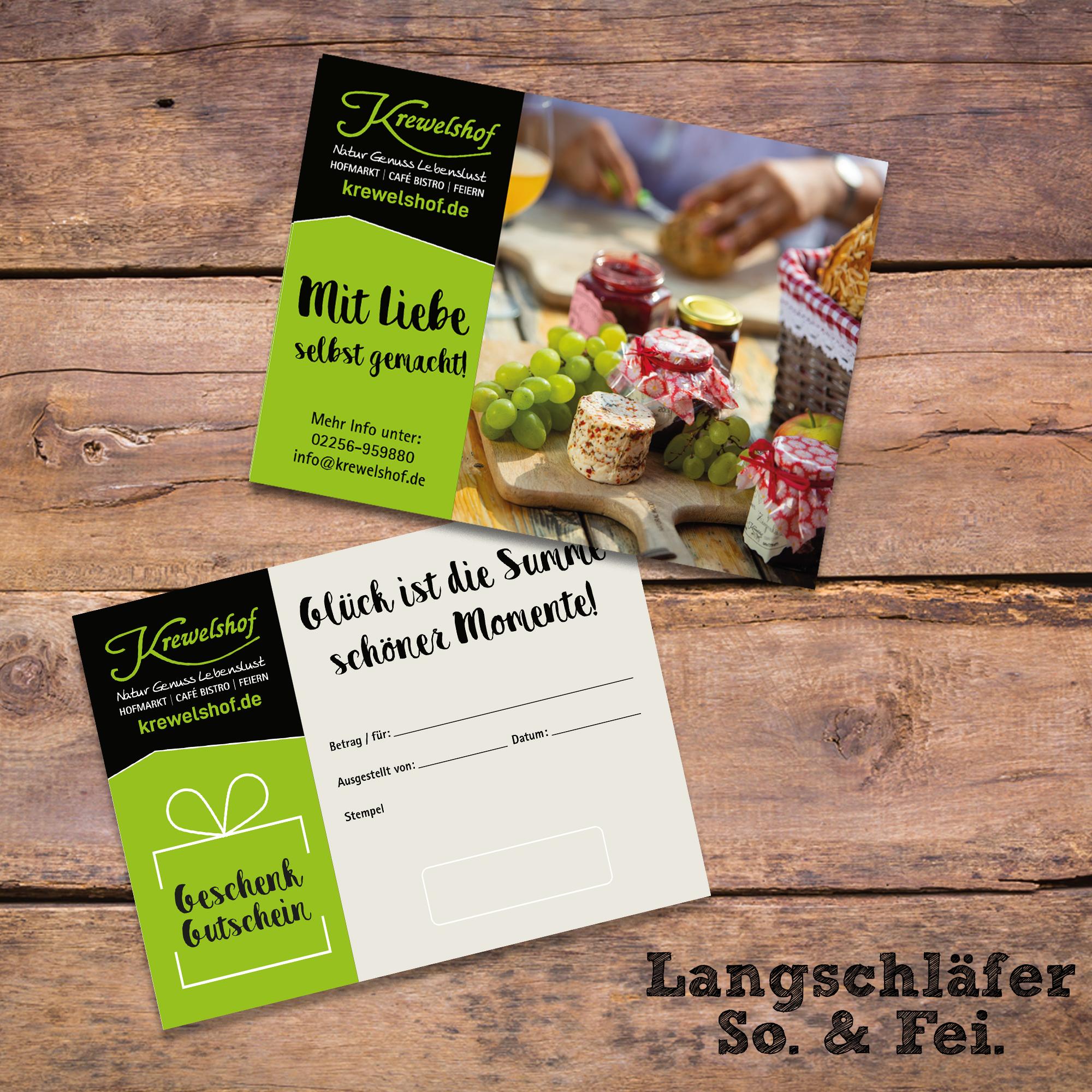 Gutschein Langschläfer-Frühstück Eifel (So & Fei)